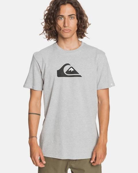 Sivé tričko Quiksilver