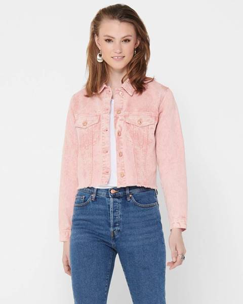 Ružová bunda Jacqueline de Yong