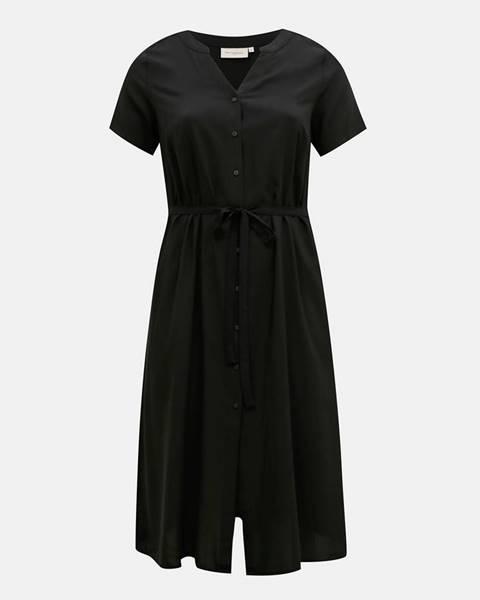 Čierne šaty ONLY CARMAKOMA