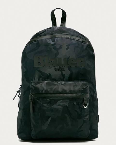 Tmavomodrý batoh Blauer