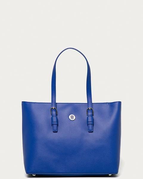 Modrá kabelka Tommy Hilfiger
