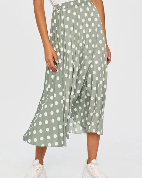 Tyrkysová sukňa Answear Lab