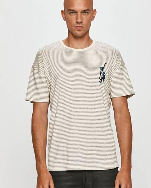 Tmavomodré tričko ONLY & SONS