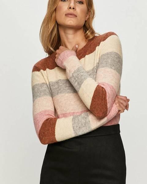 Ružový sveter Vero Moda