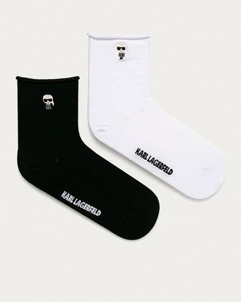 Čierne ponožky Karl Lagerfeld