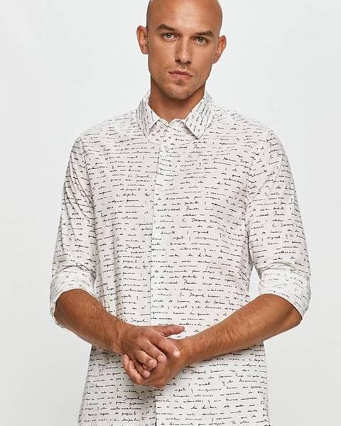 Biela košeľa Desigual
