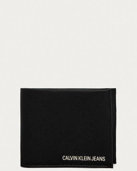 Čierna peňaženka Calvin Klein Jeans