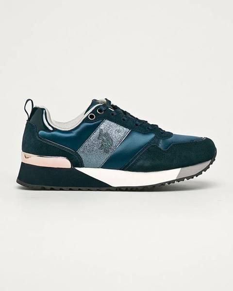 Modré topánky U.S. Polo Assn.