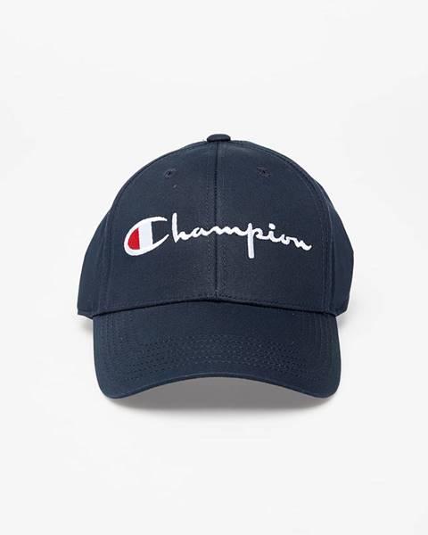 Modrá čiapka Champion