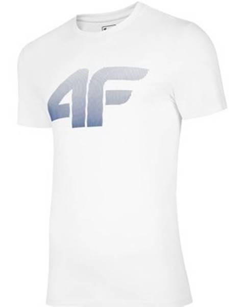 Biele tričko 4F