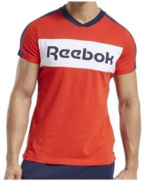 Červené tričko Reebok Sport