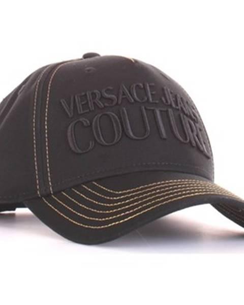Čierna čiapka Versace