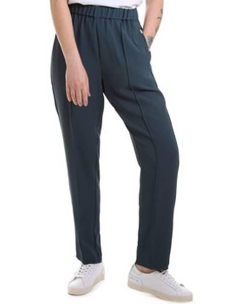 Zelené chino nohavice Calvin Klein Jeans