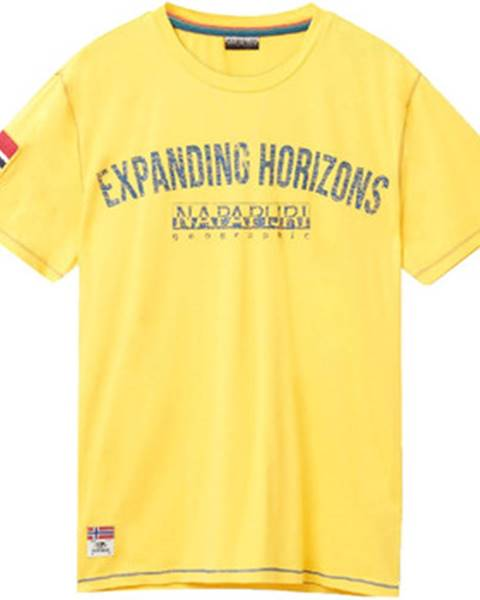 Žlté tričko Napapijri