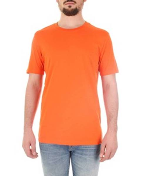 Oranžové tričko Selected