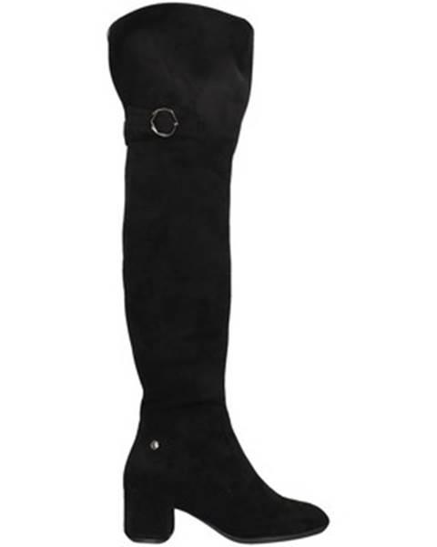 Čierne čižmy Gattinoni