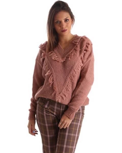 Ružový sveter Fracomina