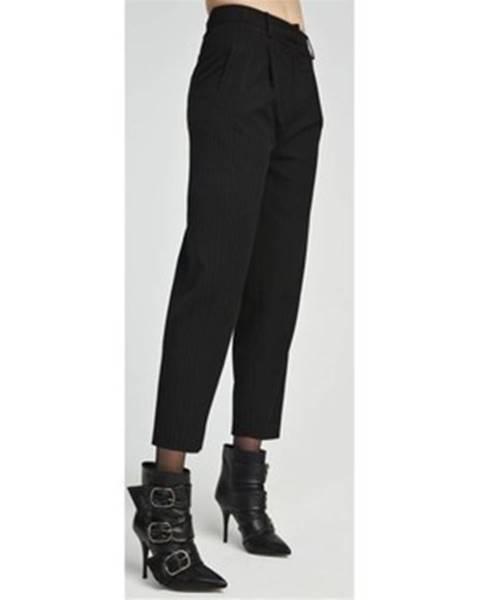Čierne chino nohavice Aniye By