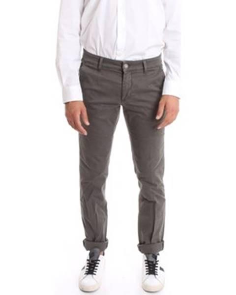 Viacfarebné nohavice Alessandro Dell'acqua