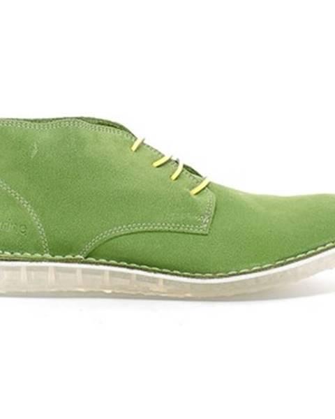 Zelené topánky Submariine London
