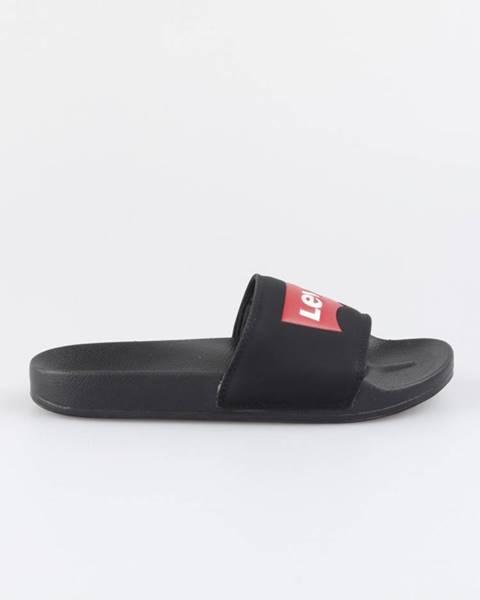 Čierne papuče Levi's®
