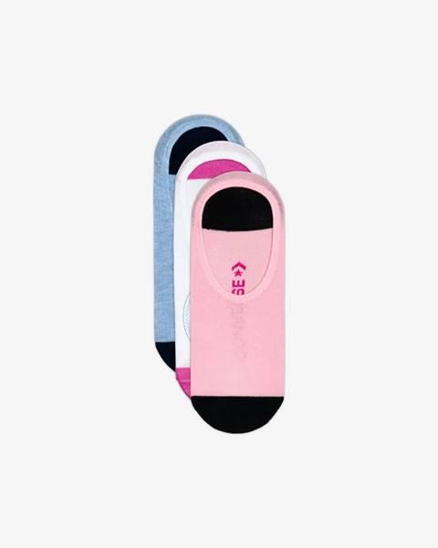 Farebné ponožky Converse