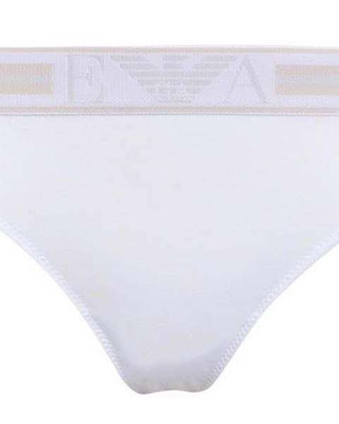 Biele tangá Emporio Armani Underwear