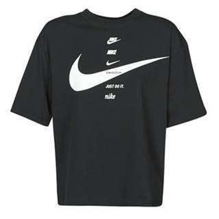 Tričká s krátkym rukávom Nike  W NSW SWSH TOP SS
