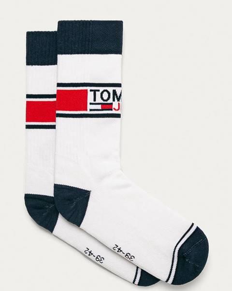 Biele ponožky Tommy Jeans
