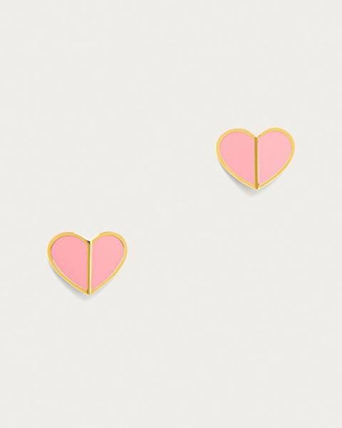Ružové náušnice Kate Spade