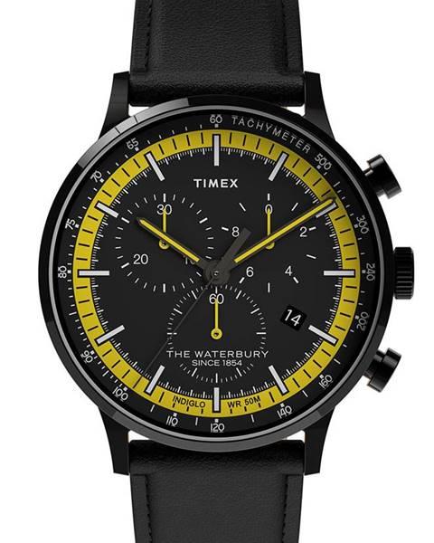 Čierne hodinky Timex
