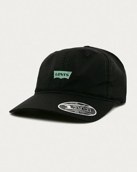 Čierna čiapka Levi's