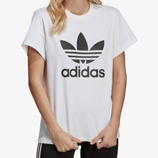 Tričko adidas Originals Boyfriend Tee Biela