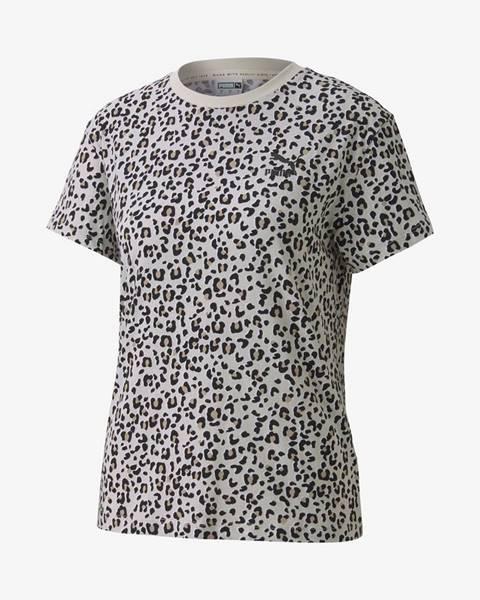 Sivé tričko Puma
