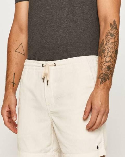 Biele kraťasy Polo Ralph Lauren
