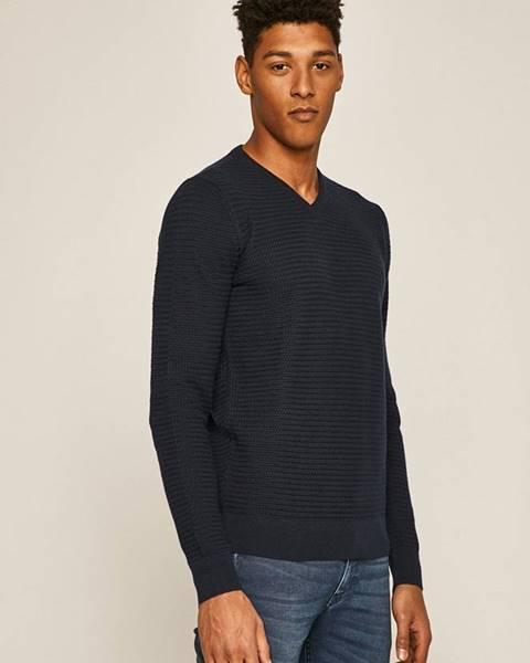 Tmavomodrý sveter MEDICINE