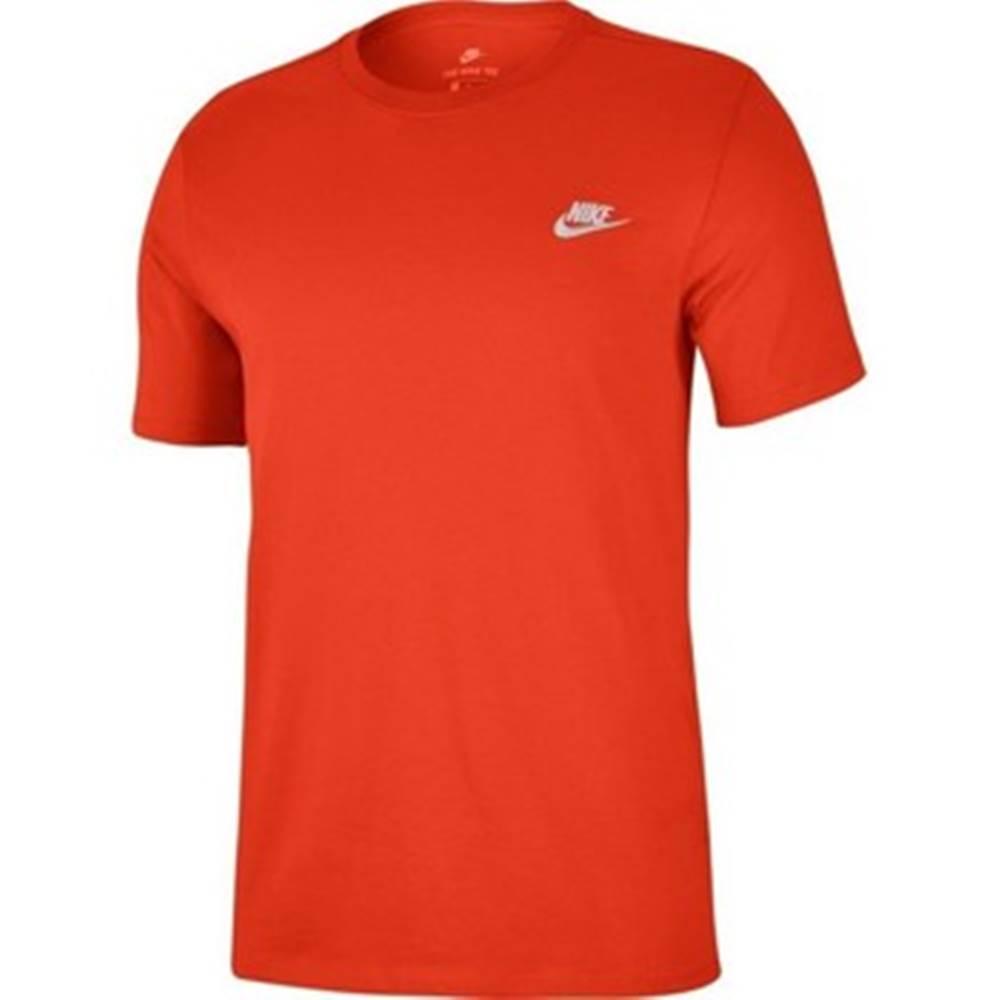 Nike Tričká s krátkym rukávom Nike  Club Emb