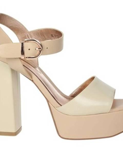 Béžové sandále Luciano Barachini