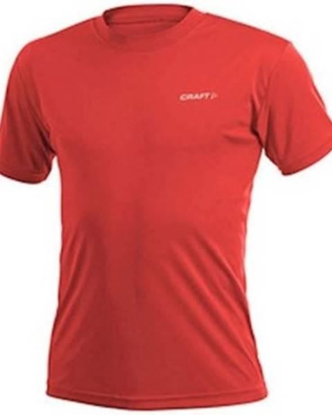 Červené tričko Craft