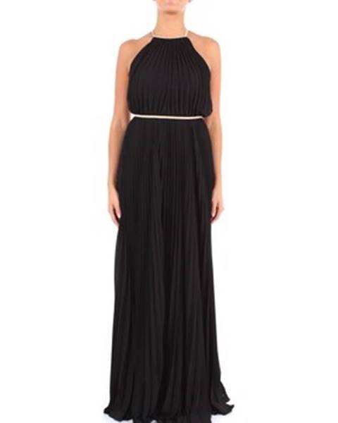 Čierne maxišaty Twins Beach Couture