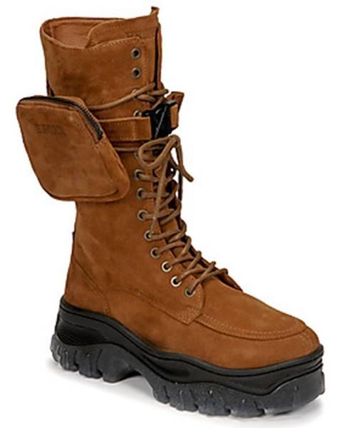 Hnedé topánky Bronx