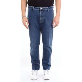 Rovné džínsy Barba Napoli  JDELON7150