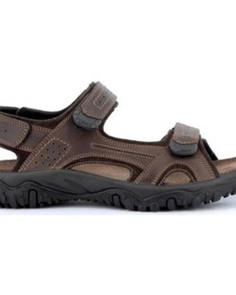 Hnedé sandále Robert