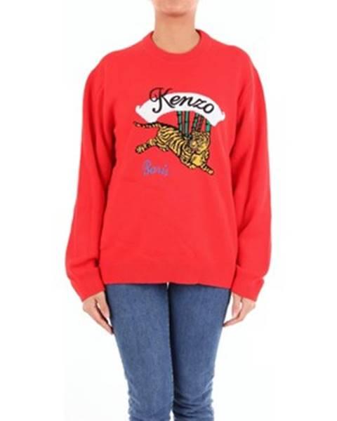Červený sveter Kenzo