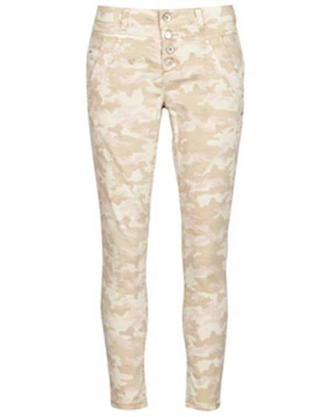 Béžové nohavice Cream