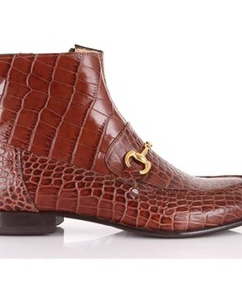 Hnedé topánky Seboy's
