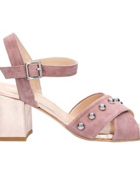 Ružové sandále Cristian Daniel