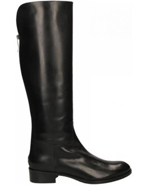 Čierne čižmy Lorenzo Masiero