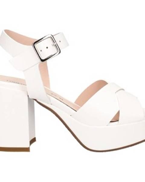 Biele sandále Lorenzo Mari