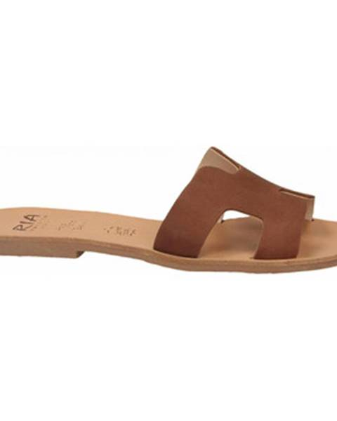 Hnedé sandále Ria